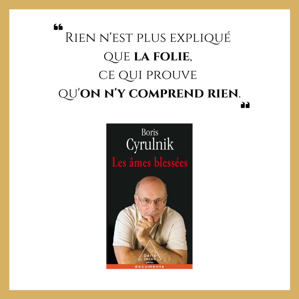 """Présentation du seconde tome des mémoires de Boris Cyrulnik, """"Les âmes blessées""""."""