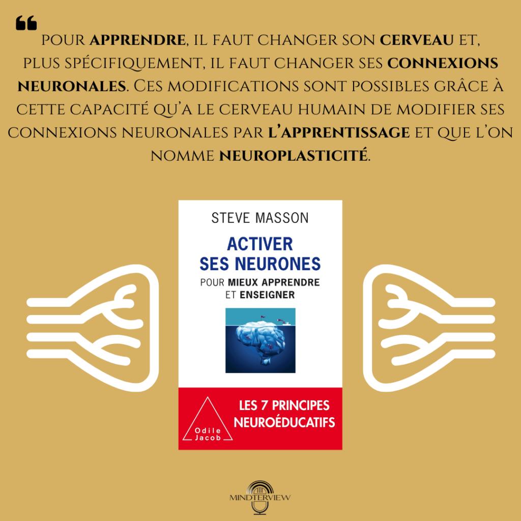 """Présentation du livre """"Activer ses neurones"""" de Steve Masson"""